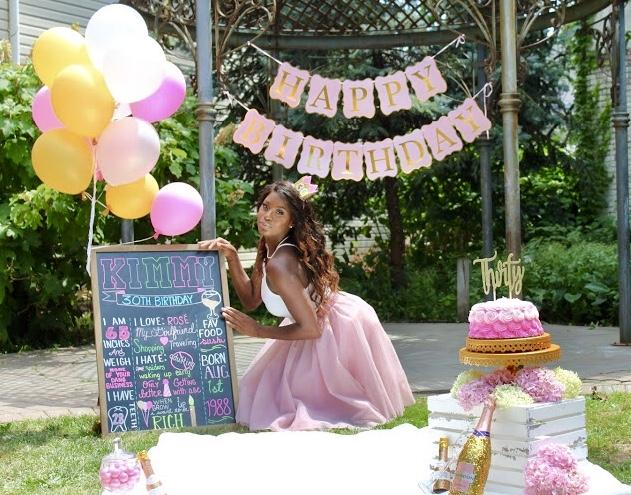 Kimmy's 30th Cake Smash